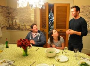 Croatian dinner Vinnie's toast