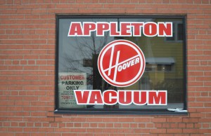 Of all the vacuum cleaner joints in all the towns in the world, I walked into his.