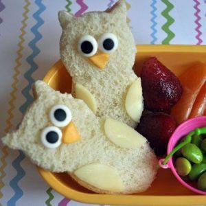 Owl sandwiches