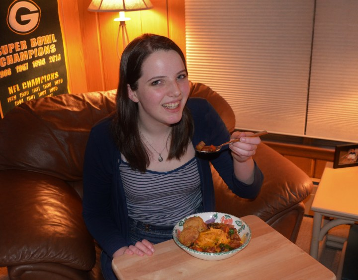 Chili sin carne — a vegetarian feast (A post by Molly)