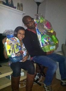 Ashlee and Kwame