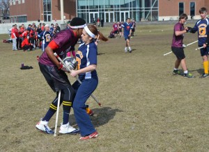 Wait...is this Normal? We stumbled into this fierce Quidditch match. An odd sport, no?