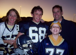 Football parent night 2008 005