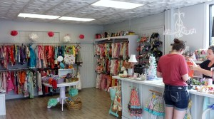 Its hard not to have an adorable store when you sell children's clothing