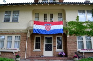 This is how we'll be supporting our second home team, Croatia, through the World Cup.