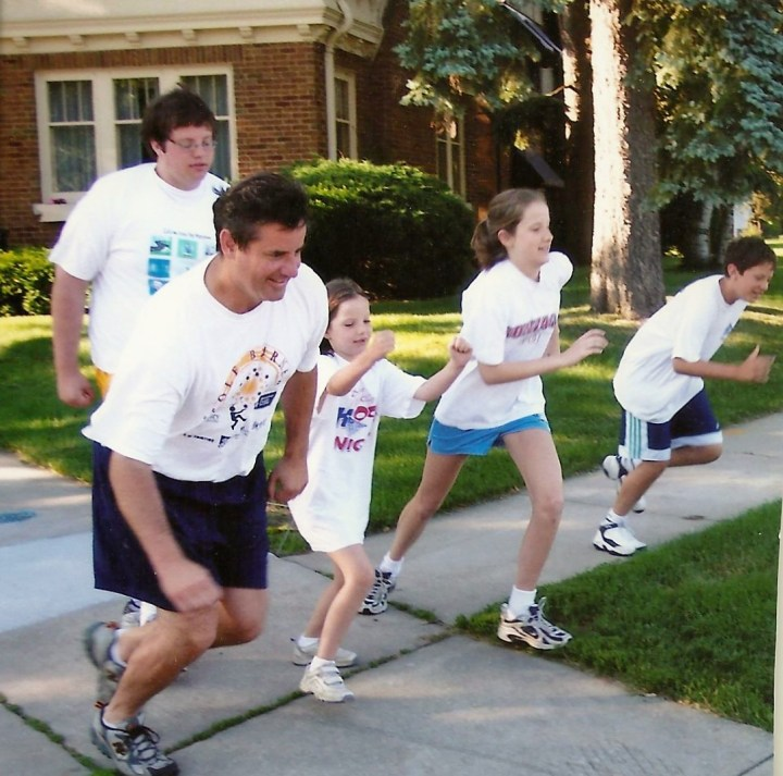 Father's Day Scamper