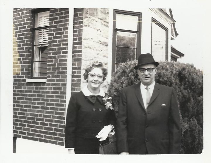 Grandma and Grandpa Fey