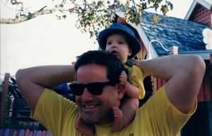 My dad also instilled in our family a love of chubby babies (starting with his own babies),