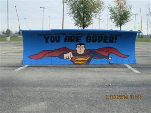 Foster Charter super man plow