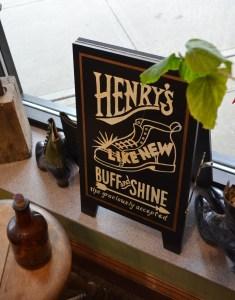 Henry's like new buff and shine