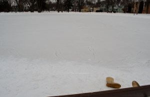 The whole rink