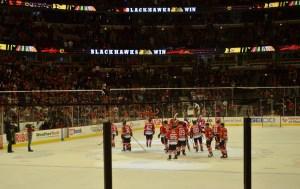 The Blackhawks Win!