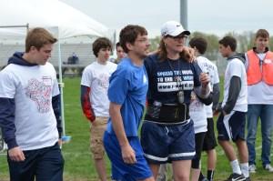 Coach helping