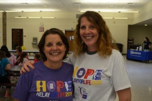 Relay for Life Kathy and me