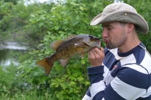 Ryan and his fish