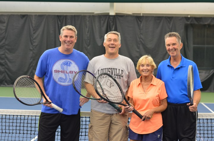 Courting lifelong friendship with the Tuesday Tennis Club