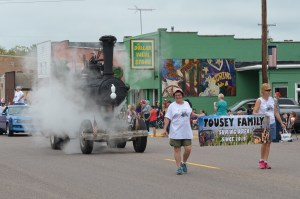 The Suring Parade and the Tousey Family