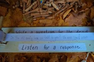 Listen for a response