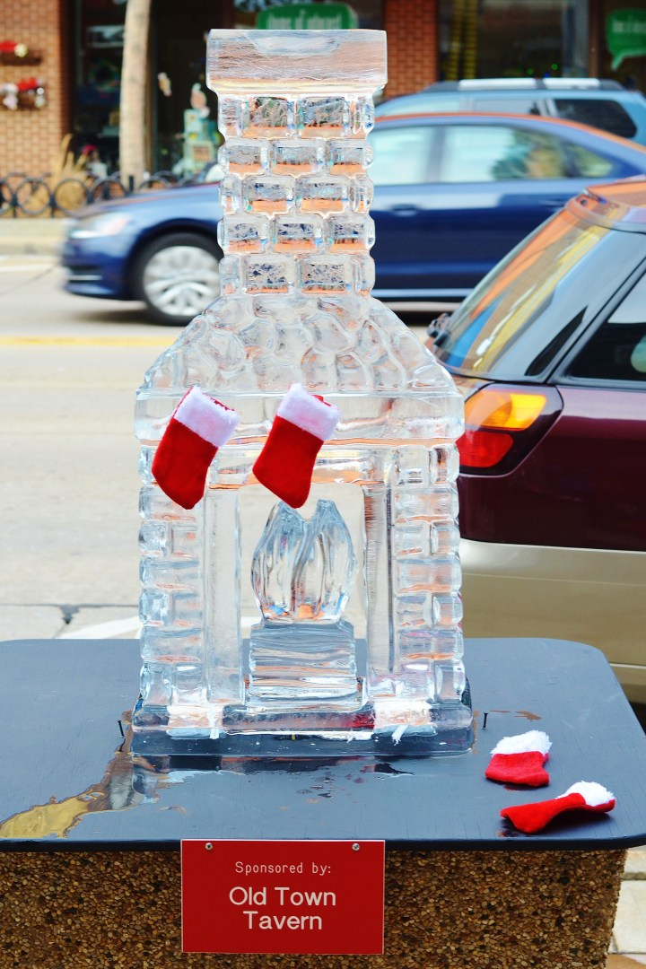 Ice sculptures and the fleeting beauty of the season