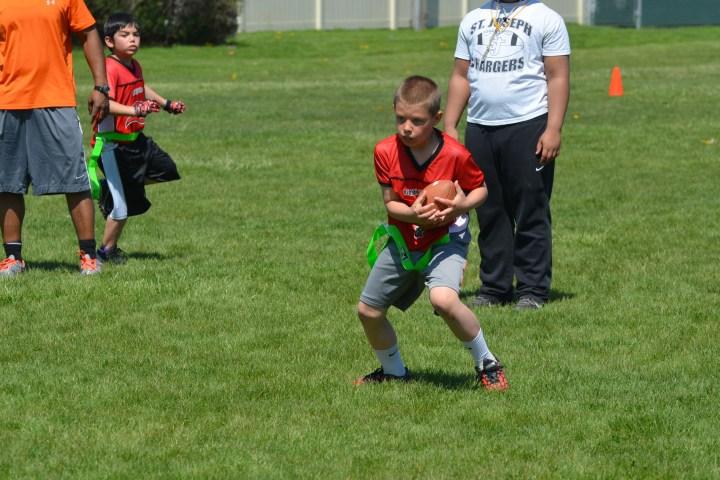 Ben's football game 142