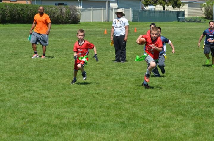 Ben's football game 147