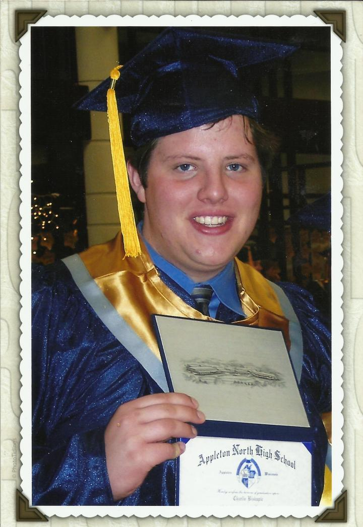 Charlie's graduation pic 2005