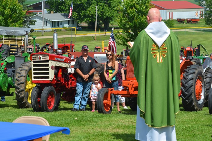 Tractor blessing