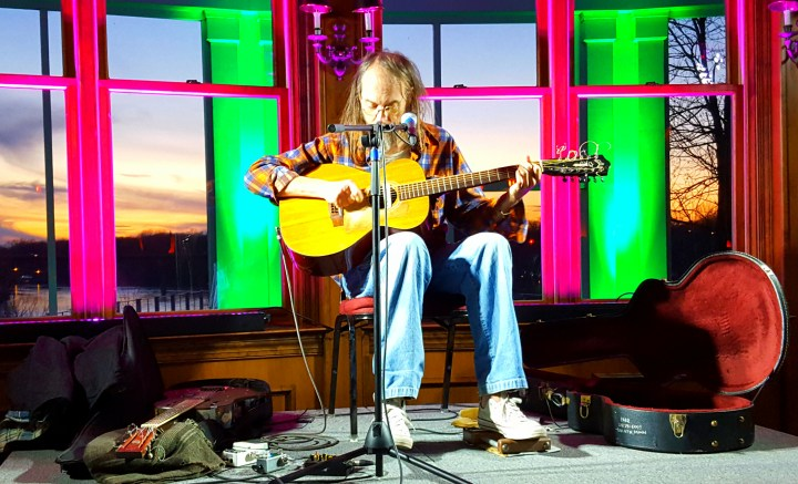 I watched the sun set behind Charlie Parr