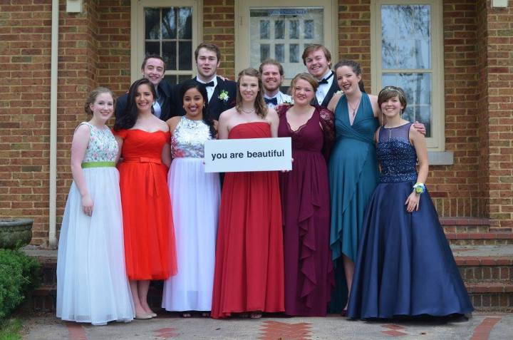 You are beautiful prom