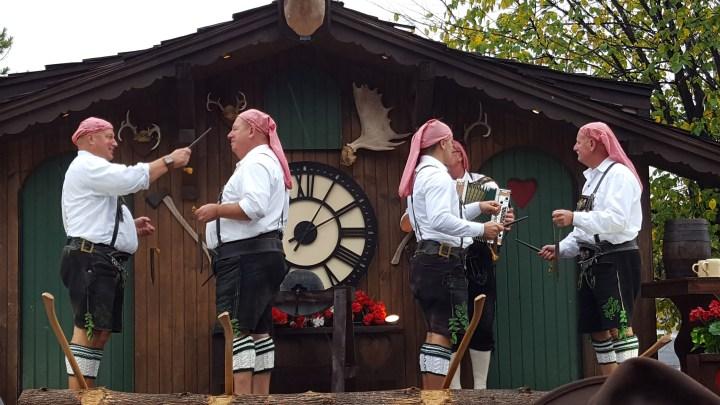 Oktoberfest and the human glockenspiel