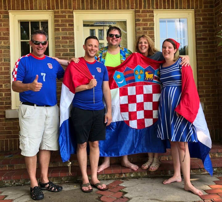 A Croatian super fan