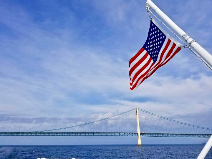 A Labor Day salute to the Mackinac Island Bridge builders