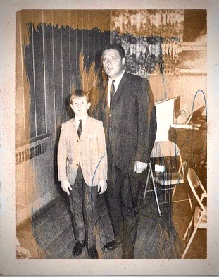 Mayor Hanna and Dad
