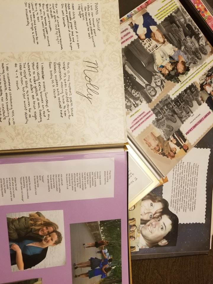 Scrapbooks of memories