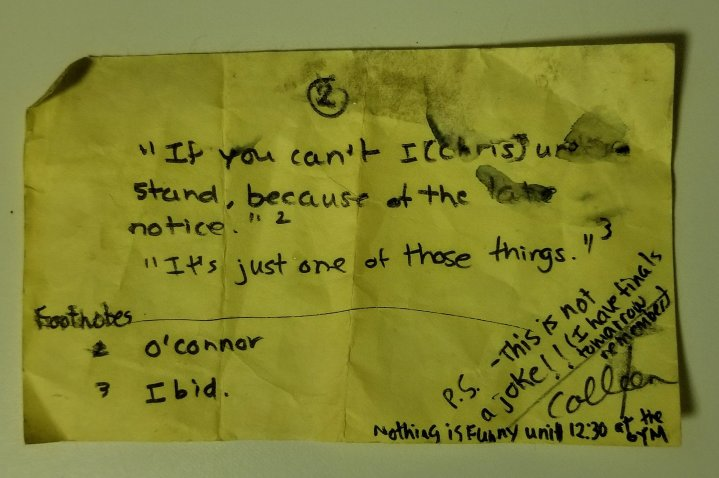 On Post-It notes, clever friends and the iGeneration
