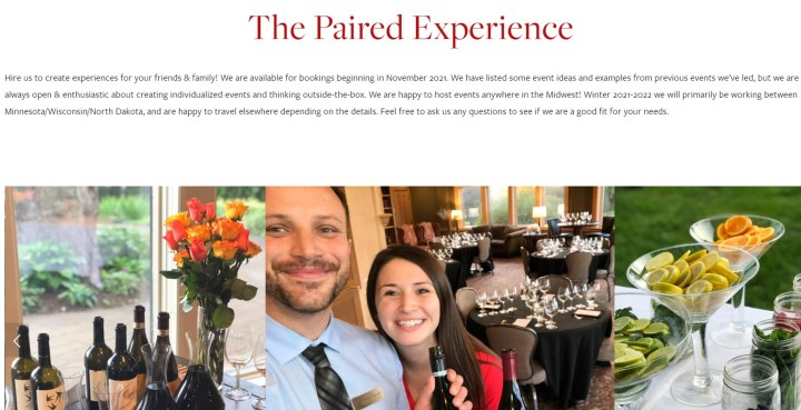 Paired Experience for you