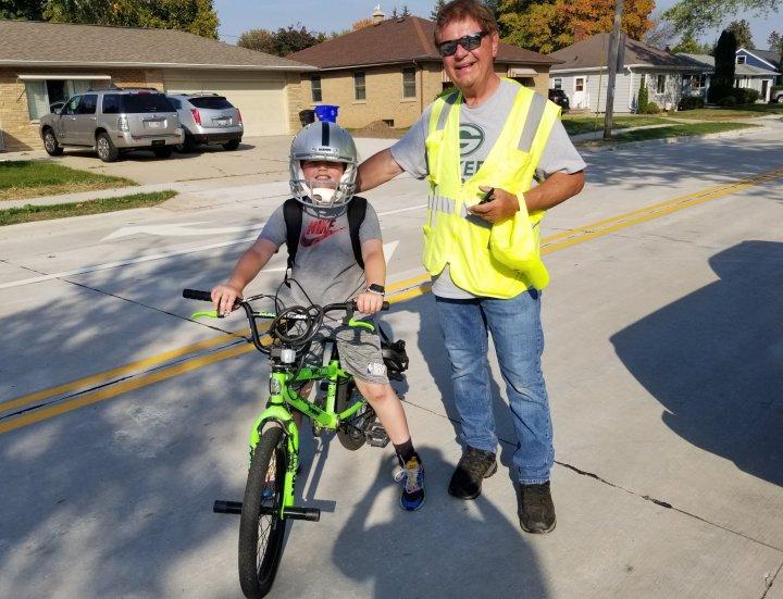 Mr. Helmet's Neighborhood