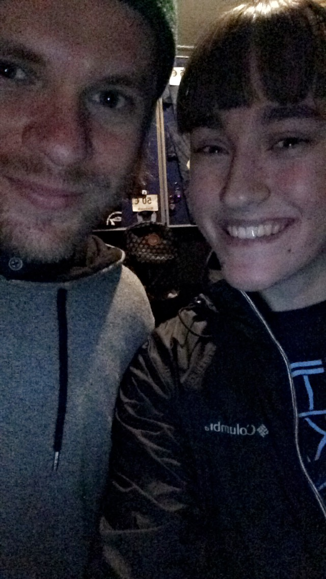 Me and Rou from Enter Shikari
