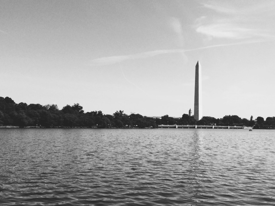 Washington Monument from Tidal Basin