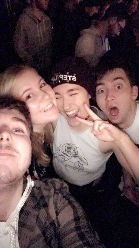 Joe, Abi, myself and Tom (London)