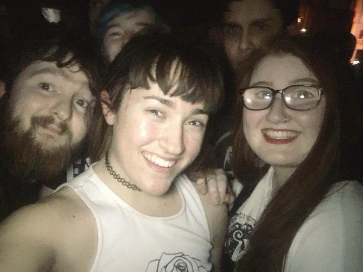 Tom, little Islay, Carlos and Em!