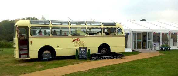 The 'Booze bus' (Pimms, anyone?)