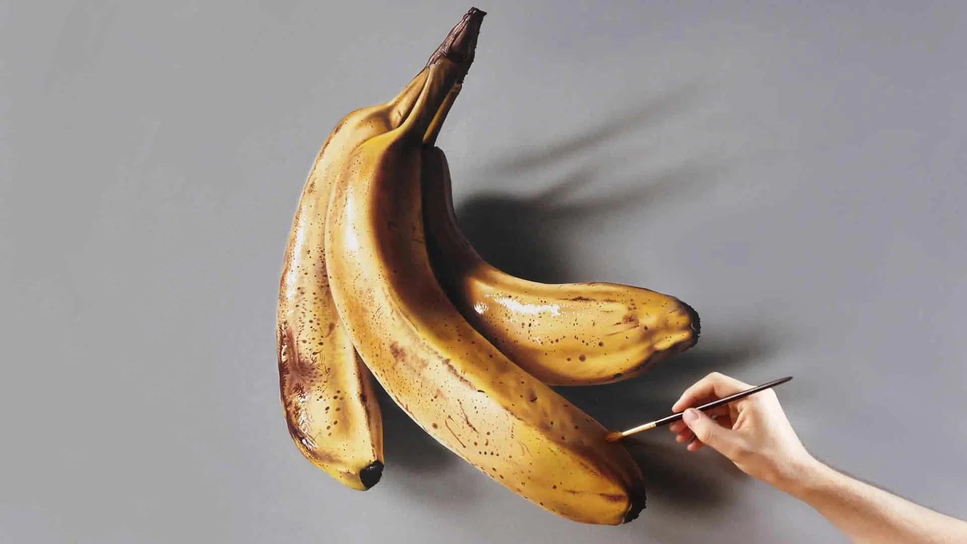 Banana_lifestyle_art_paint_brush_food_fruit
