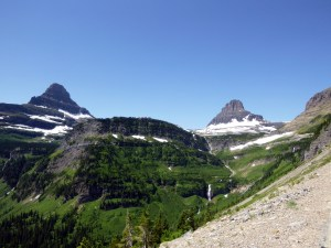 View from near Logan Pass, Glacier National Park, MT