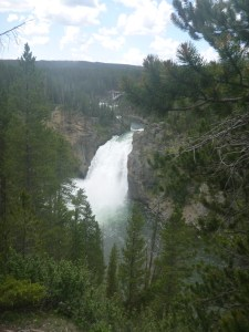 Lower Falls from Uncle Tom's Point, Yellowstone National Park, WY