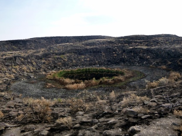 East Twin Crater, Diamond Craters, Oregon