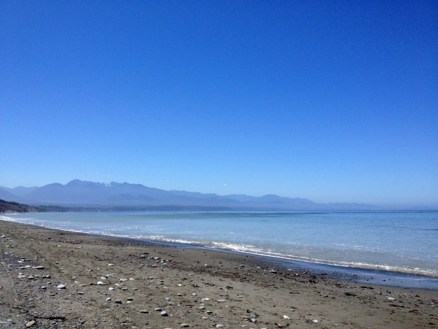 View from Dungeness Spit, Dungeness National Wildlife Refuge