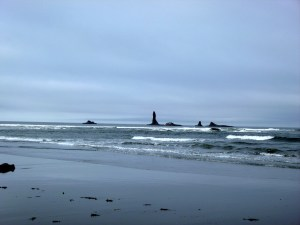 Sea stacks off Second Beach, Olympic National Park