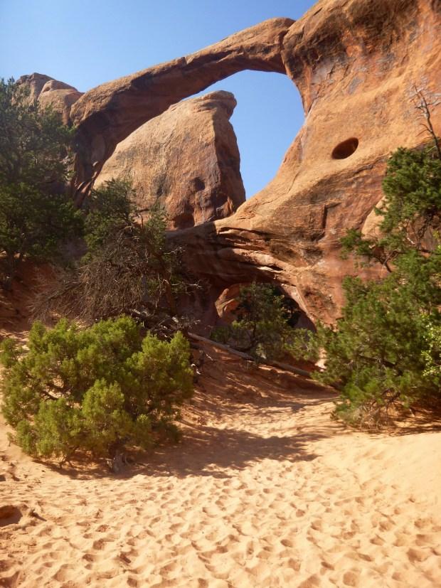 Double O Arch, Devil's Garden Trail, Arches National Park, Utah