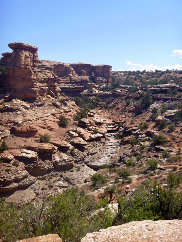 Big Spring Canyon Overlook, Needles, Canyonlands National Park, Utah